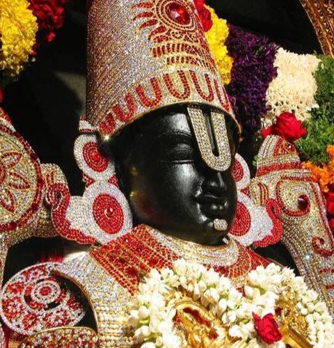 venkateshwara, form of vishnu the preserver of the universe