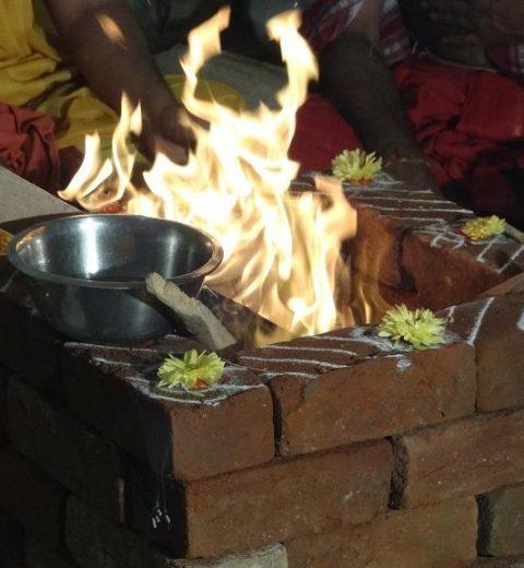 ritual fire homa