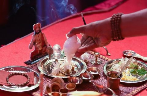 devotional home puja ritual