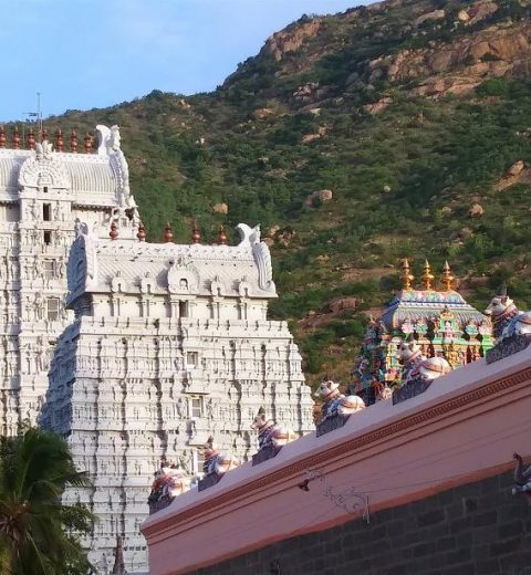 arunachaleshwara temple in south india