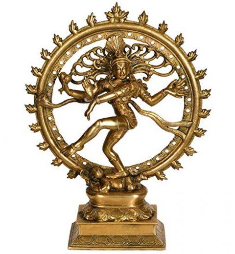 Shiva in the form of Nataraja, the cosmic dancer