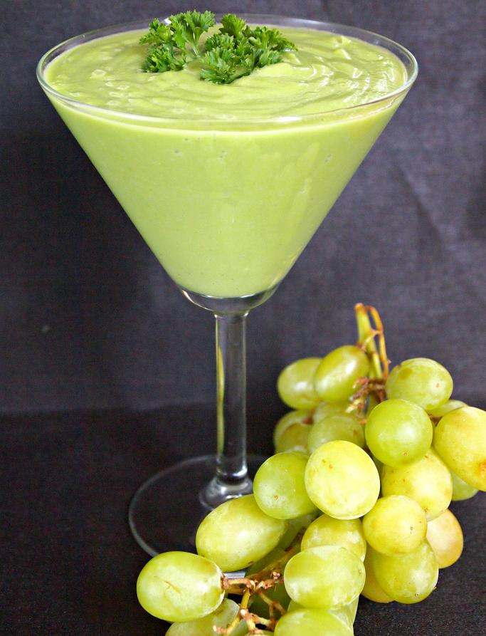 Green Grape Smoothie Recipe to Help Improve Your Health