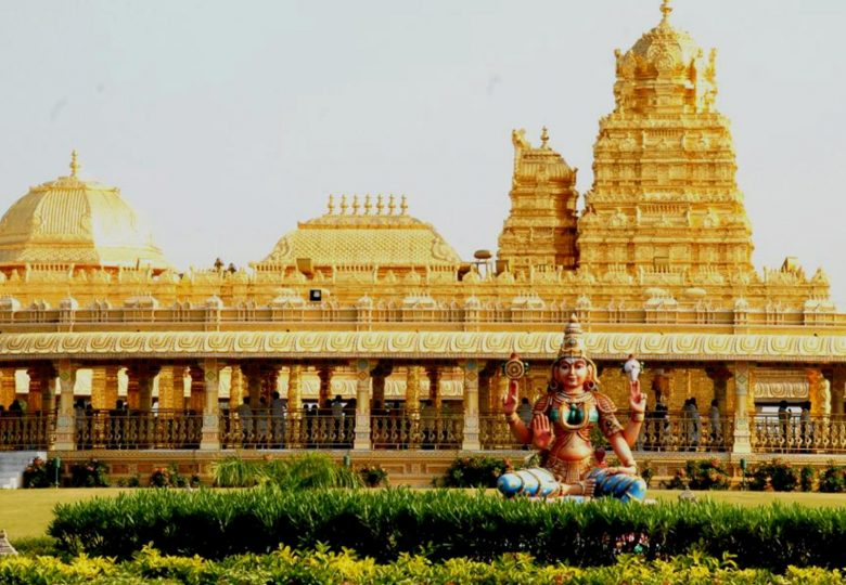 My First Visit to the Beautiful Golden Lakshmi Temple near Vellore